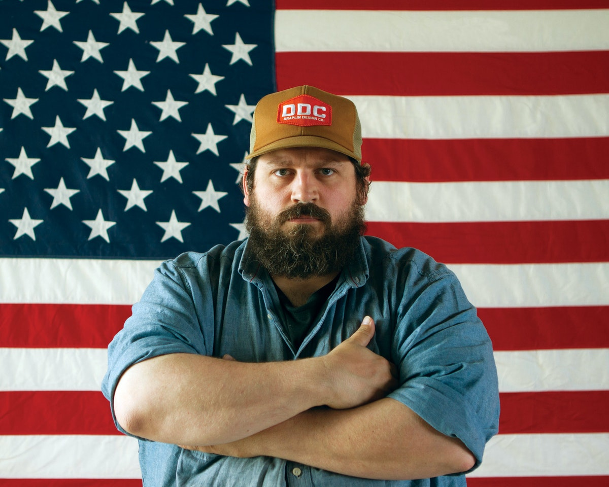 aaron draplin on the great discontent tgd. Black Bedroom Furniture Sets. Home Design Ideas