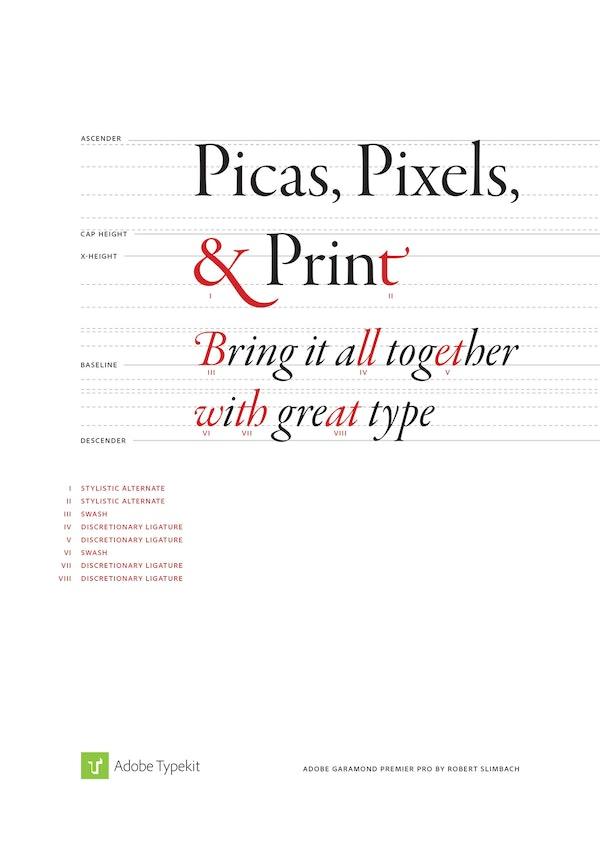 Adobe Typekit ad