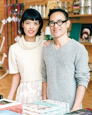 Ted Vadakan and Angie Myung of Poketo