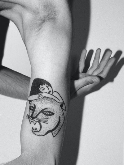c81885a82 Jenna Bouma - stick and poke tattoo. How did you know that it was the ...
